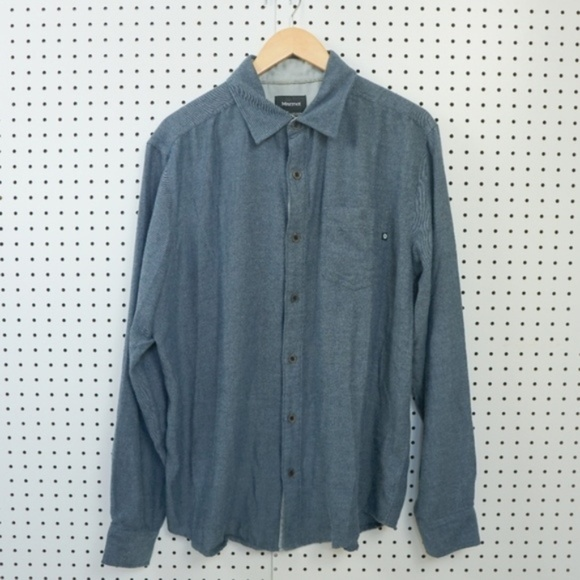 Men/'s Marmot Eldridge size XL Short Sleeve Button Up Soft Hiking Shirt NWT